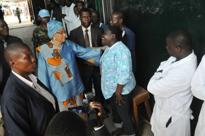 Sirleaf Declares Emergency Over Ebola in Liberia
