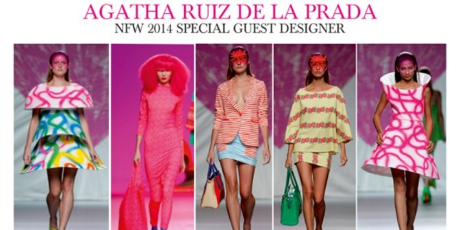 "The Iconic AGATHA RUIZ DE LA PRADA to Attend Nigeria Fashion Week as ""Special Guest"""